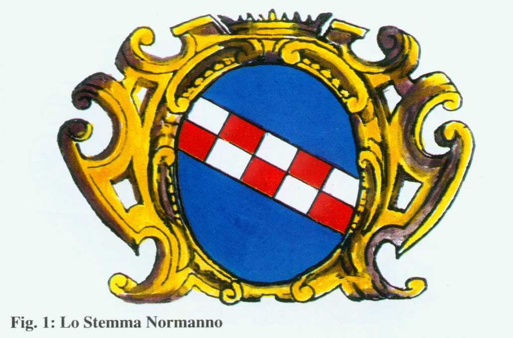 Fig. 1 : Lo Stemma Normanno